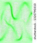 warped green lines.vertical... | Shutterstock . vector #1320790310