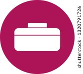 vector briefcase icon  | Shutterstock .eps vector #1320791726