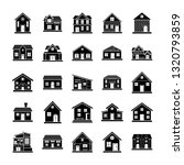 buildings and architecture icons | Shutterstock .eps vector #1320793859