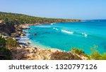 cyprus. sea beach landscape....   Shutterstock . vector #1320797126