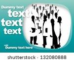 advertisement template for... | Shutterstock .eps vector #132080888