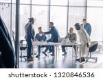diverse business executives... | Shutterstock . vector #1320846536