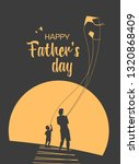 happy father and son enjoy...   Shutterstock . vector #1320868409