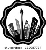 vector illustration  of Jakarta