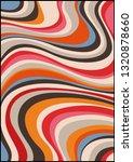 vintage background psychedelic... | Shutterstock .eps vector #1320878660