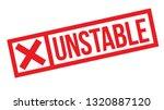 unstable stamp on white... | Shutterstock .eps vector #1320887120
