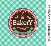 cupcake | Shutterstock .eps vector #132090728
