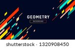 geometry abstract colorful... | Shutterstock .eps vector #1320908450