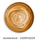 hot coffee latte cappuccino... | Shutterstock . vector #1320910229