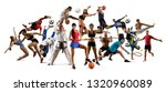 huge multi sports collage... | Shutterstock . vector #1320960089