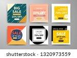 modern promotion web banner for ... | Shutterstock .eps vector #1320973559