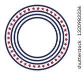 usa star vector pattern round...