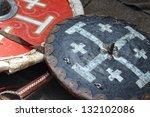 military shields | Shutterstock . vector #132102086