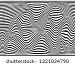 warped zebra stripes.wavy zebra ... | Shutterstock . vector #1321024790