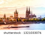 cathedral of cologne  germany  | Shutterstock . vector #1321033076