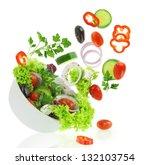 Diet Vegetables Salad. Fresh...