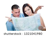 young lost and confused... | Shutterstock . vector #1321041980