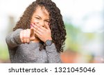 young beautiful woman with... | Shutterstock . vector #1321045046