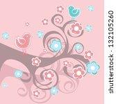 vector set  design elements and ... | Shutterstock .eps vector #132105260