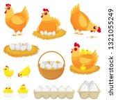 Chicken Eggs. Hen Farm Egg ...