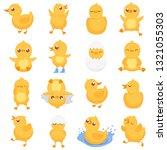 Yellow Duckling. Cute Duck...