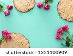 pesah celebration concept ... | Shutterstock . vector #1321100909