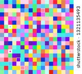 background of colored squares | Shutterstock .eps vector #1321135493