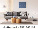blue abstract painting on white ... | Shutterstock . vector #1321141163