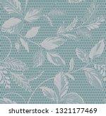 seamless vintage   pastel blue ... | Shutterstock .eps vector #1321177469