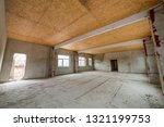 unfinished apartment or house... | Shutterstock . vector #1321199753