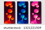 liquid lava lamp vector...