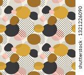 trendy seamless pattern of... | Shutterstock .eps vector #1321226090