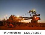 beautiful landscape sunrise at... | Shutterstock . vector #1321241813