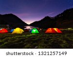 Small photo of Night View Of Ranu Kumbolo Campsite. one of the familiar names, especially for those who like to ride mountains. Dubbed the paradise of Semeru