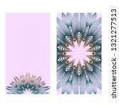 design vintage cards with... | Shutterstock .eps vector #1321277513