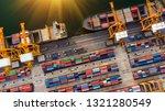 logistics and transportation of ... | Shutterstock . vector #1321280549