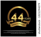 forty fouryears anniversary... | Shutterstock .eps vector #1321294079