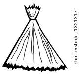straw bunch | Shutterstock .eps vector #1321317