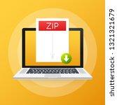 download zip button on laptop...