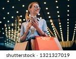 Positive Female Customer In...