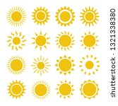 flat sun icon. sun pictogram....