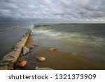 the curonian lagoon at ventes... | Shutterstock . vector #1321373909