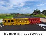 A Temporary Road Closed Sign At ...
