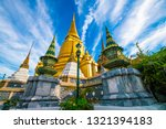 temple of emerald buddha with...   Shutterstock . vector #1321394183