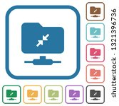 ftp compression simple icons in ... | Shutterstock .eps vector #1321396736