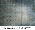grungy and smooth bare concrete ... | Shutterstock . vector #132140753
