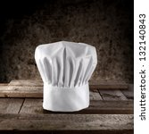 photo of chef hat | Shutterstock . vector #132140843