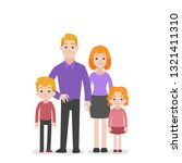 set of people character family... | Shutterstock .eps vector #1321411310