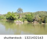 water  sky  trees and...   Shutterstock . vector #1321432163