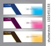 vector abstract web banner...   Shutterstock .eps vector #1321451153